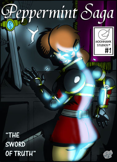 "Issue 1 Cover: ""The Sword of Truth"""