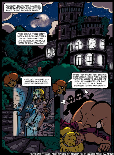 """The Sword of Truth"" Page 2"