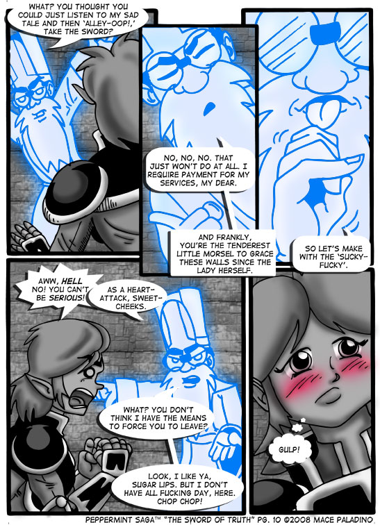 """The Sword of Truth"" Page 10"
