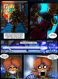 """The Sword of Truth"" Page 3"