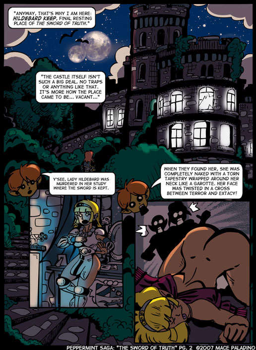 """""""The Sword of Truth"""" Page 2"""