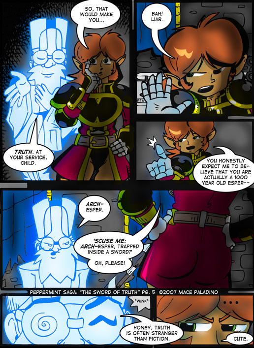 """""""The Sword of Truth"""" Page 5"""