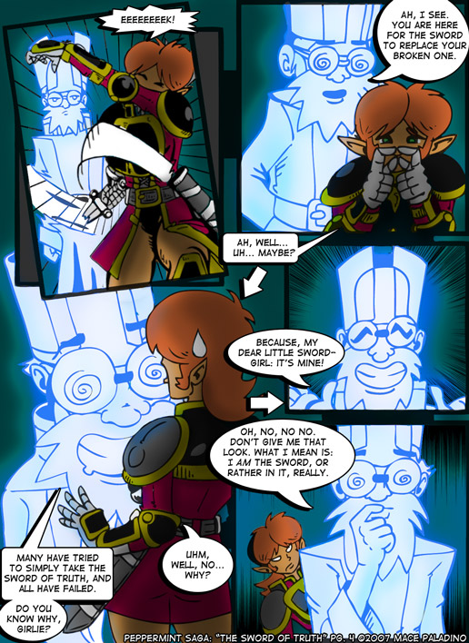 """""""The Sword of Truth"""" Page 4"""